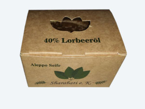 40% Lorbeeröl Original Aleppo Seife - Sharabati - Großhandel
